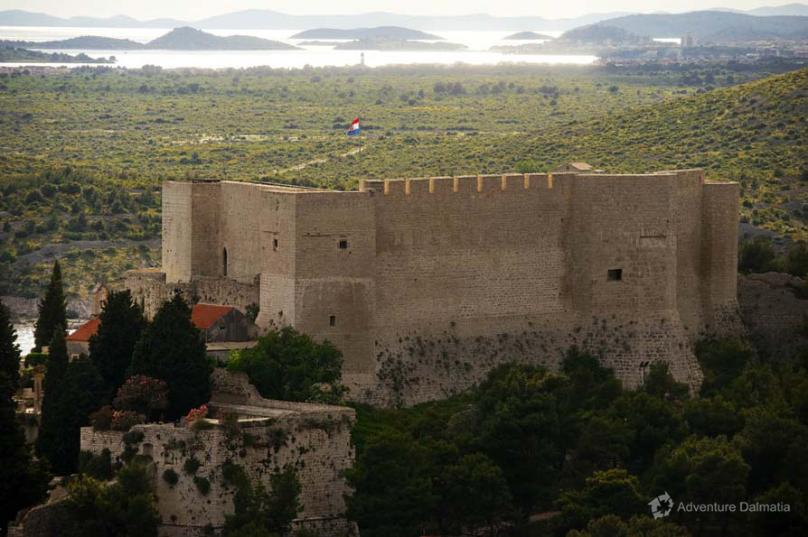 St Mihovil fortress, Šibenik