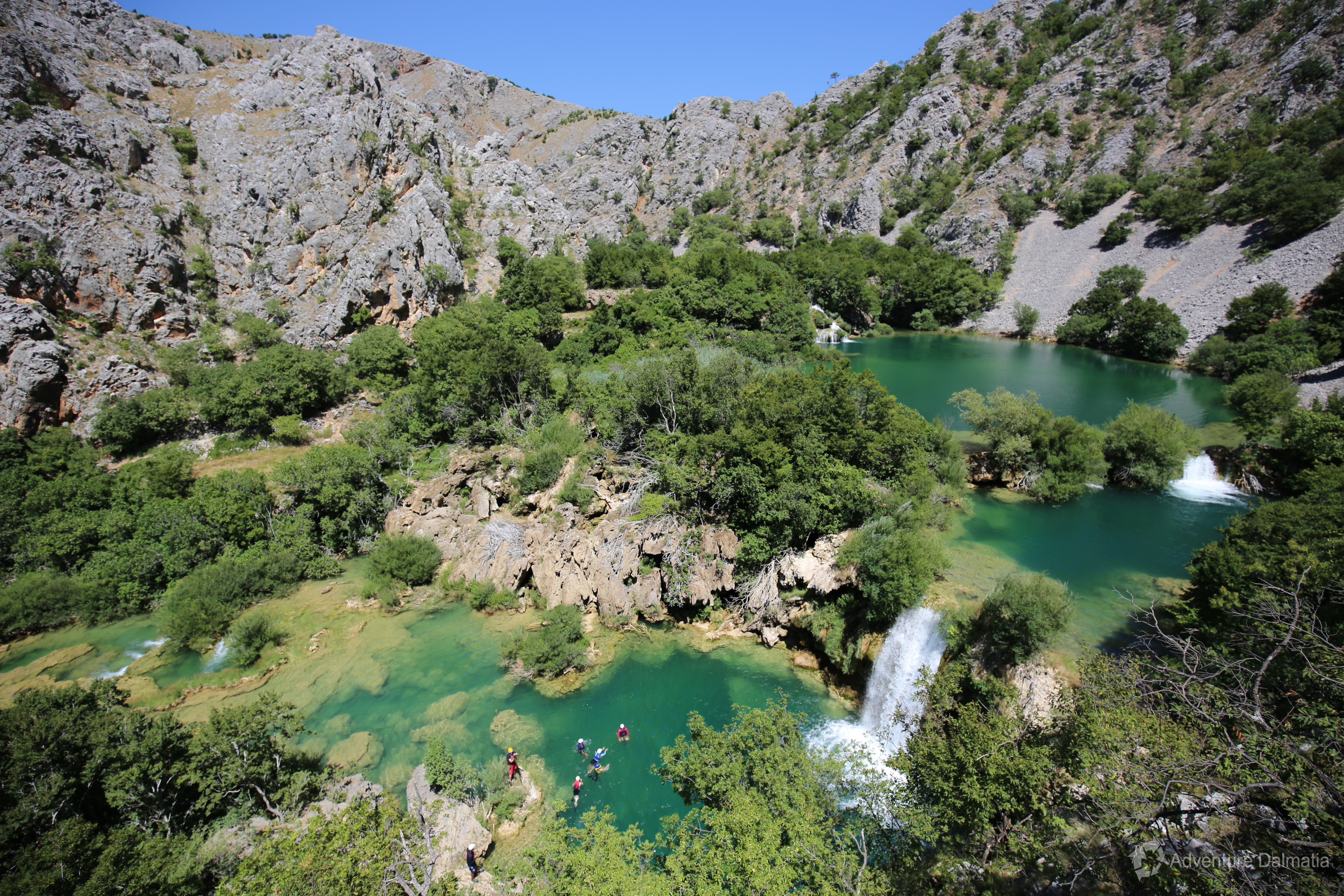 Zrmanja is characterized by rich flora and fauna.