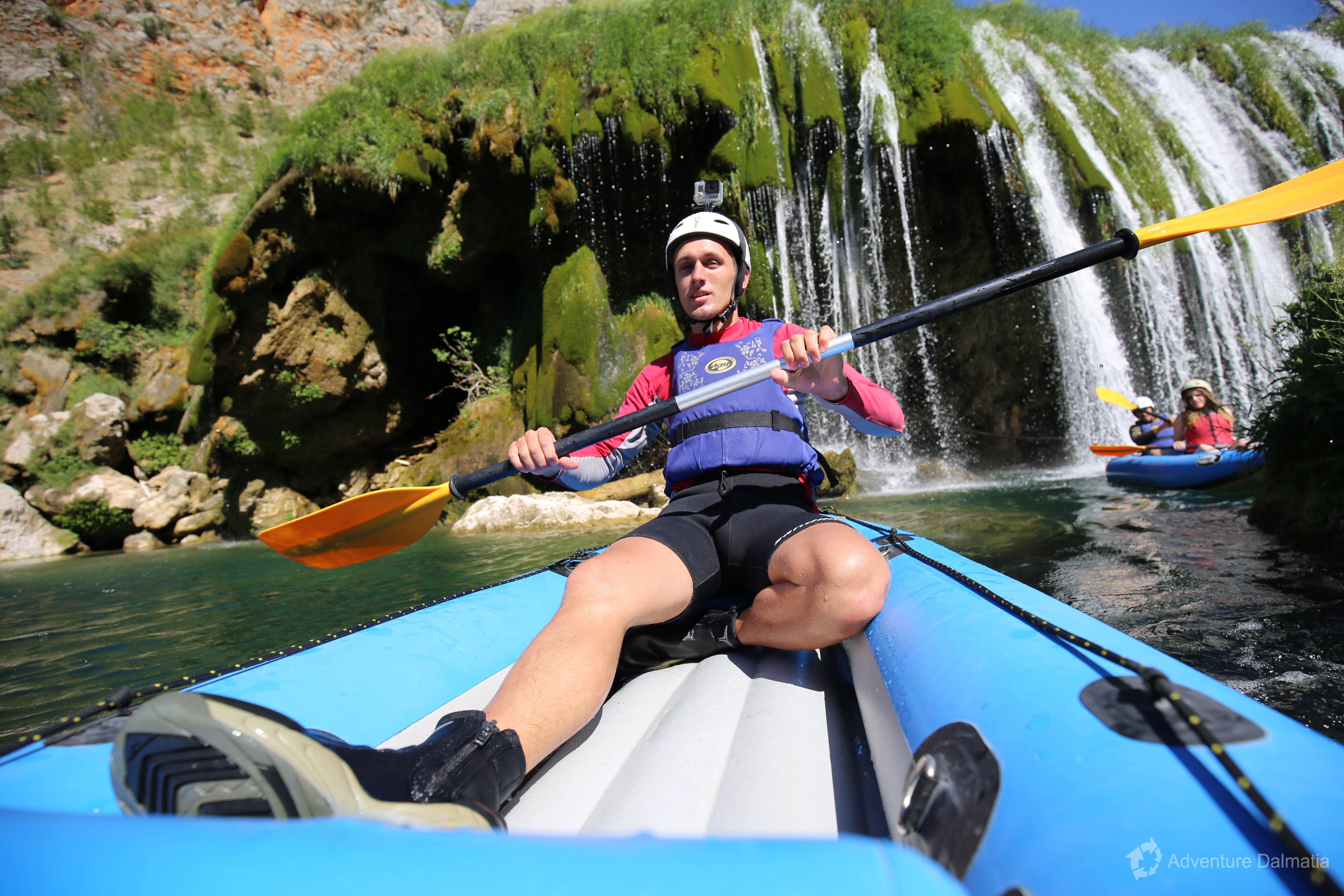 Join us on a canoeing adventure near Zadar