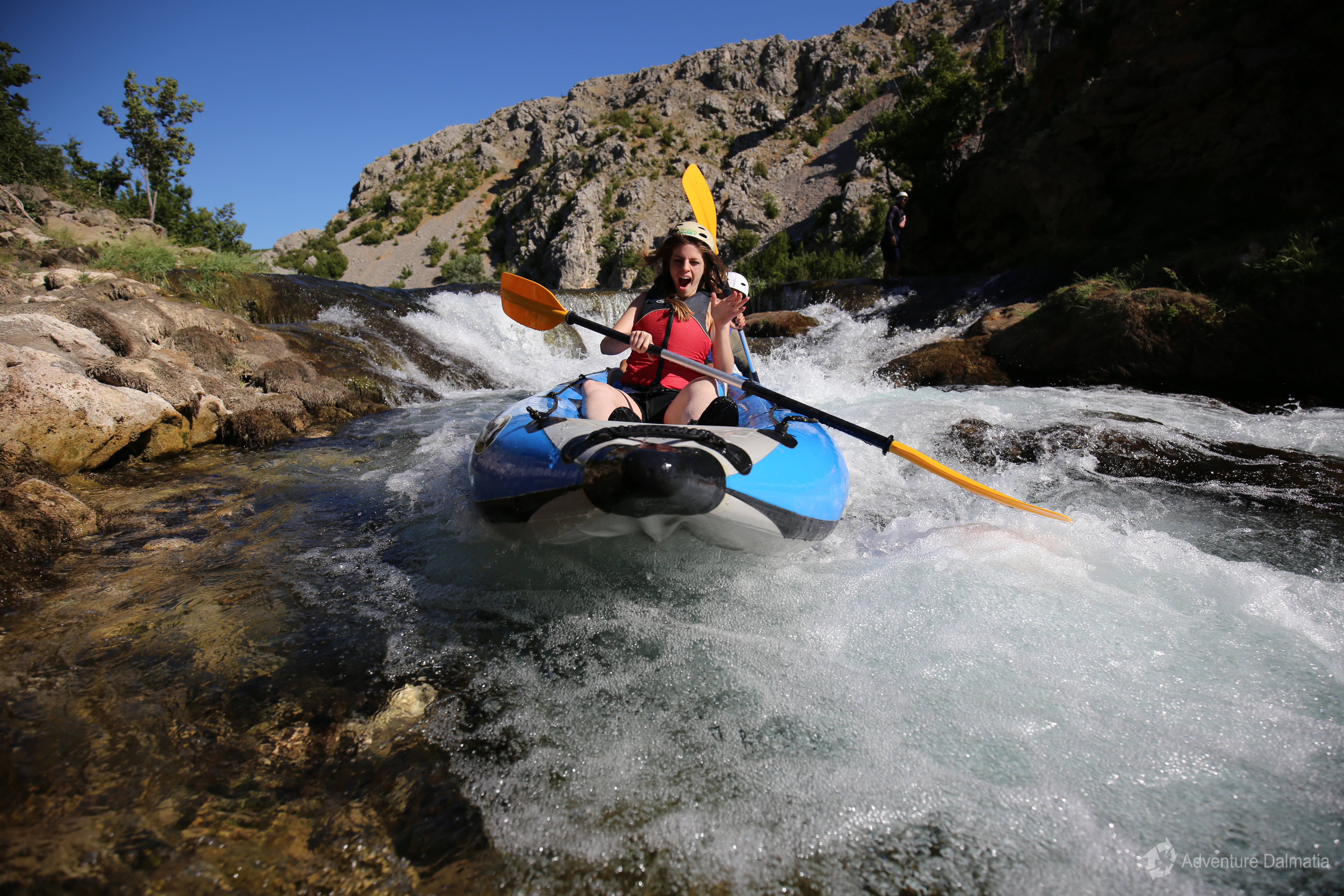 Zrmanja river canoeing adventure