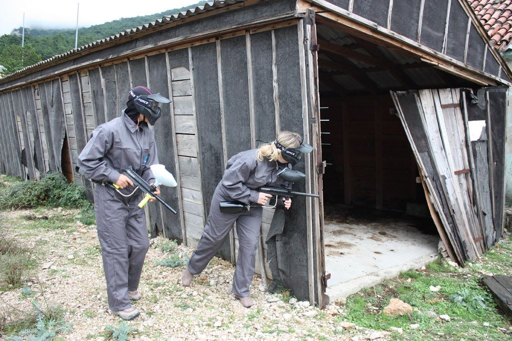 Paintball near Cetina river, 45 min from Split