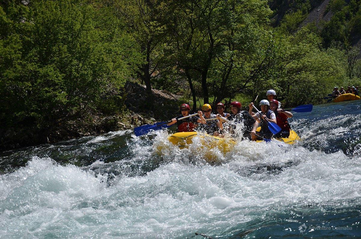 Going through the rapids of Zrmanja