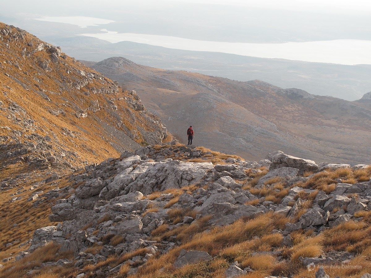 One of the peeks on Velebit
