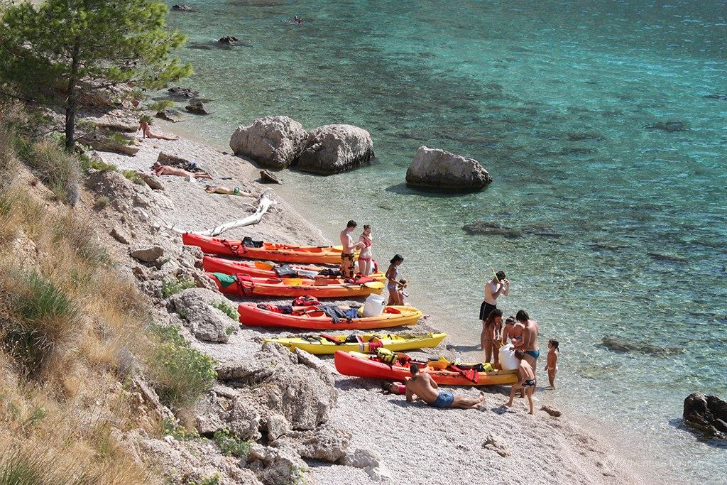 Brela - Sea kayaking & snorkeling tour