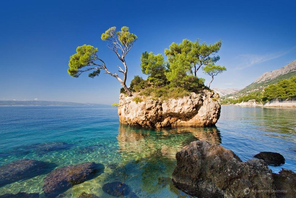 Island of love, Brela near Split
