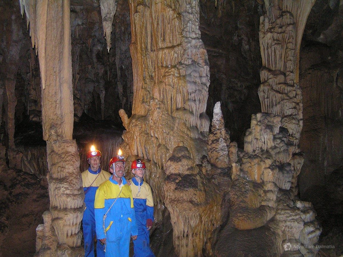 The guide will tell you great stories and educate you about the caves in general