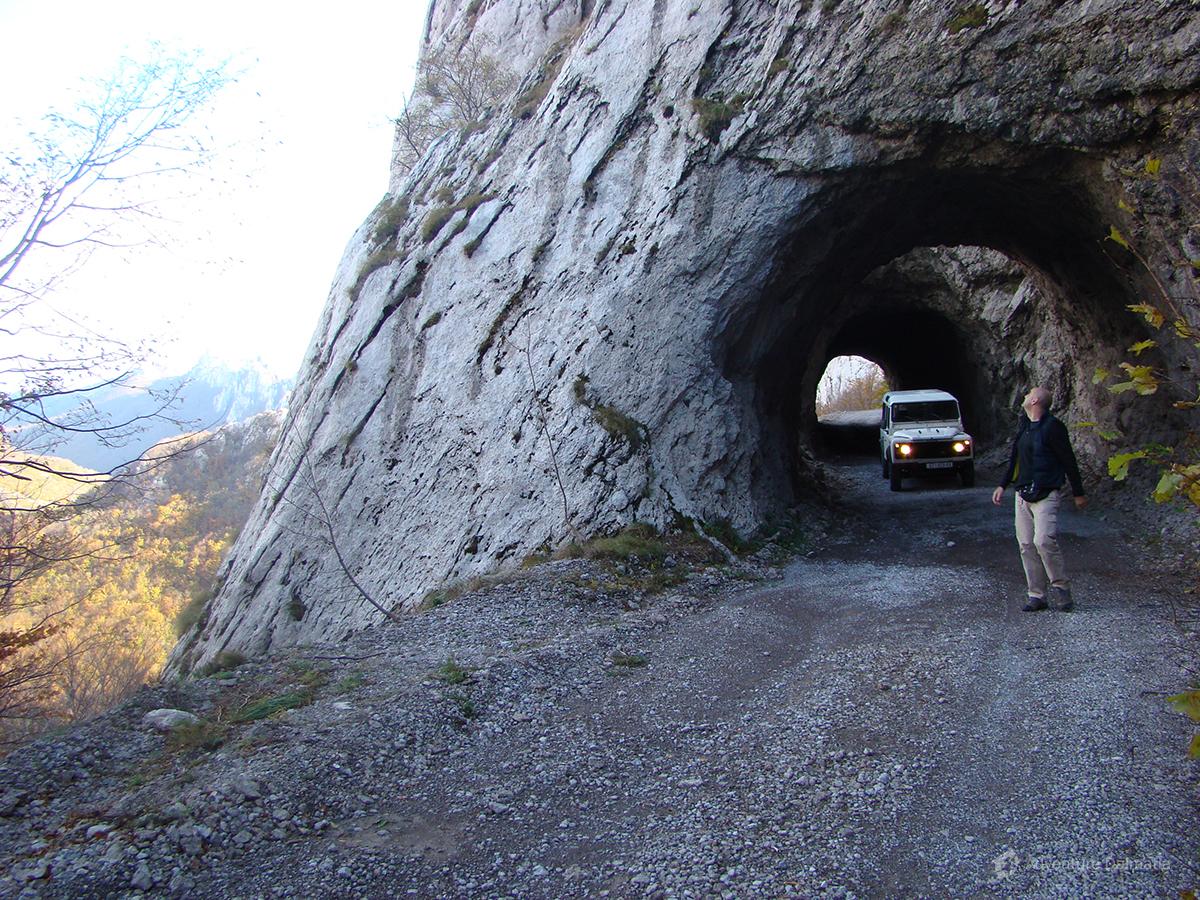 Road on north side of Velebit