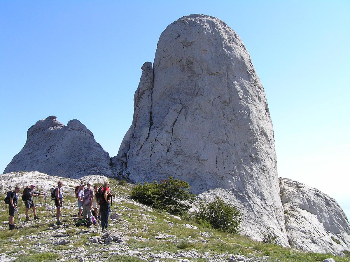 Rocks on Mount Velebit