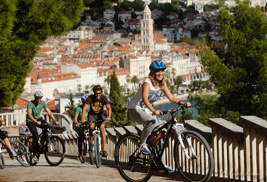 Split biking tour - View from Marjan hill