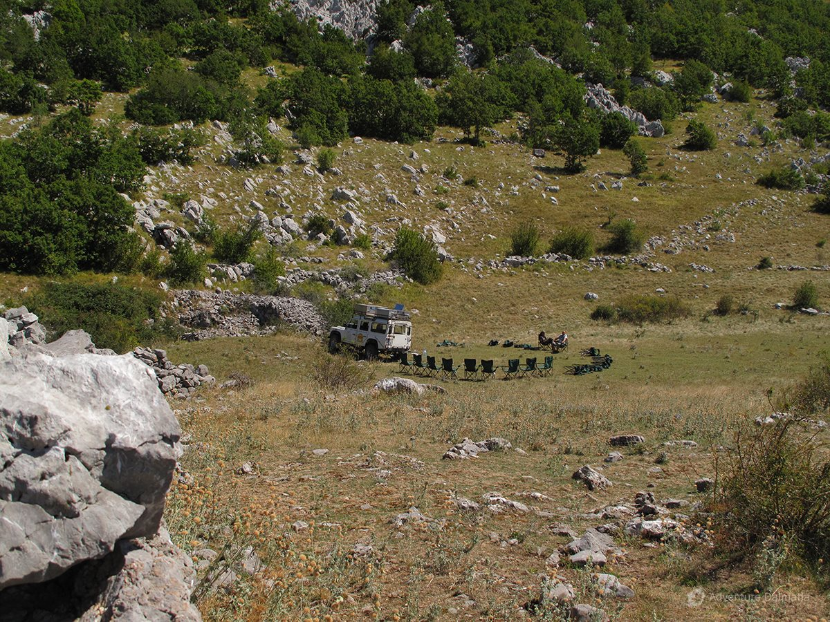 The basic geological mark on Velebit is karst