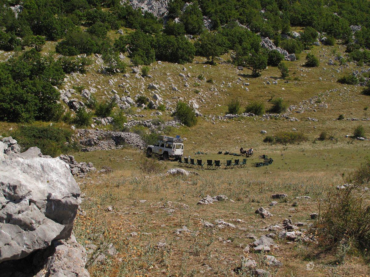 The basic geological mark on Velebit is karst