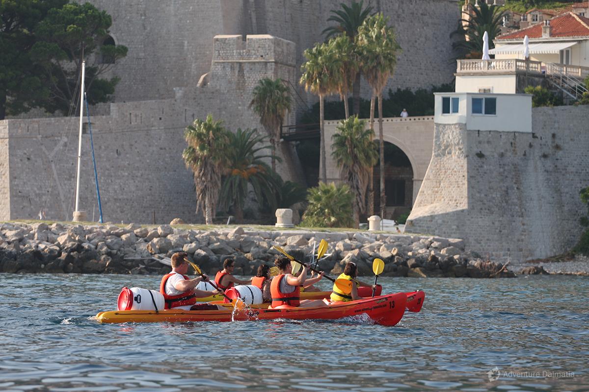 Great way to see citty walls of Dubrovnik