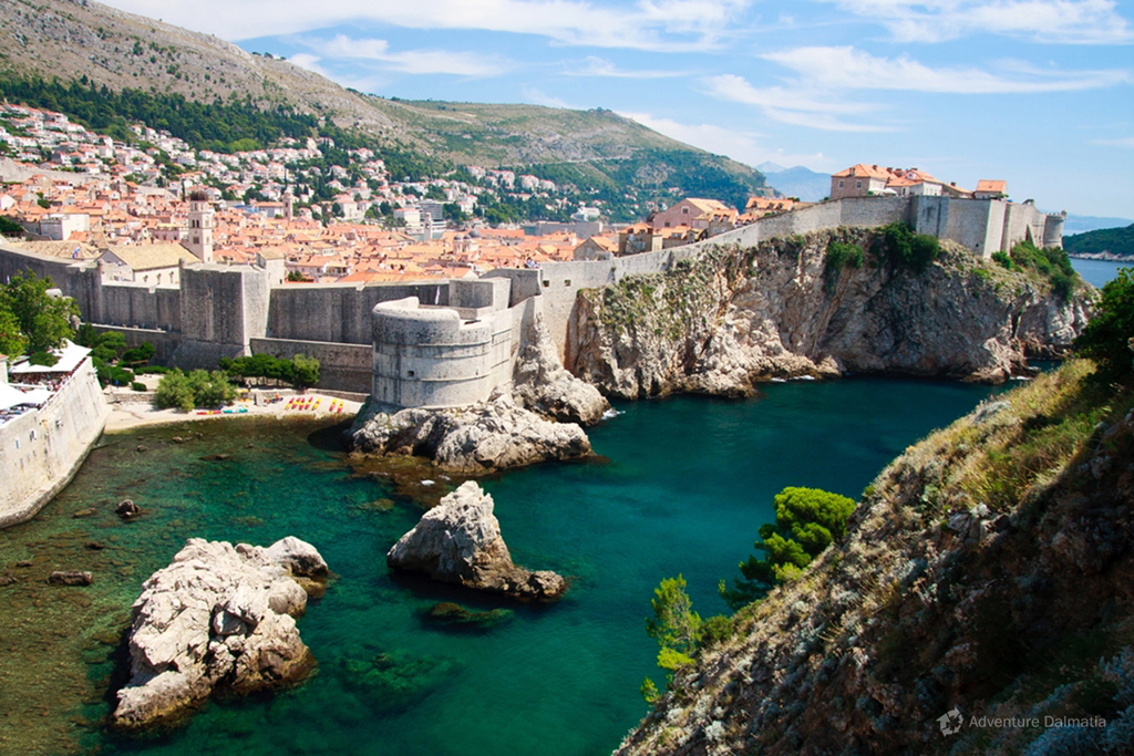 Dubrovnik - sea walls of the city