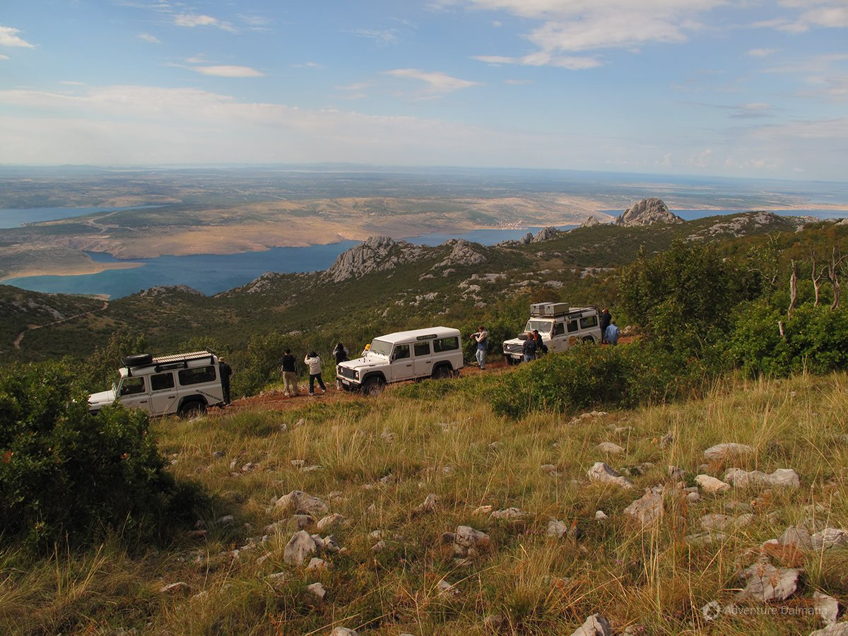 Mount Velebit - great view of nearby places