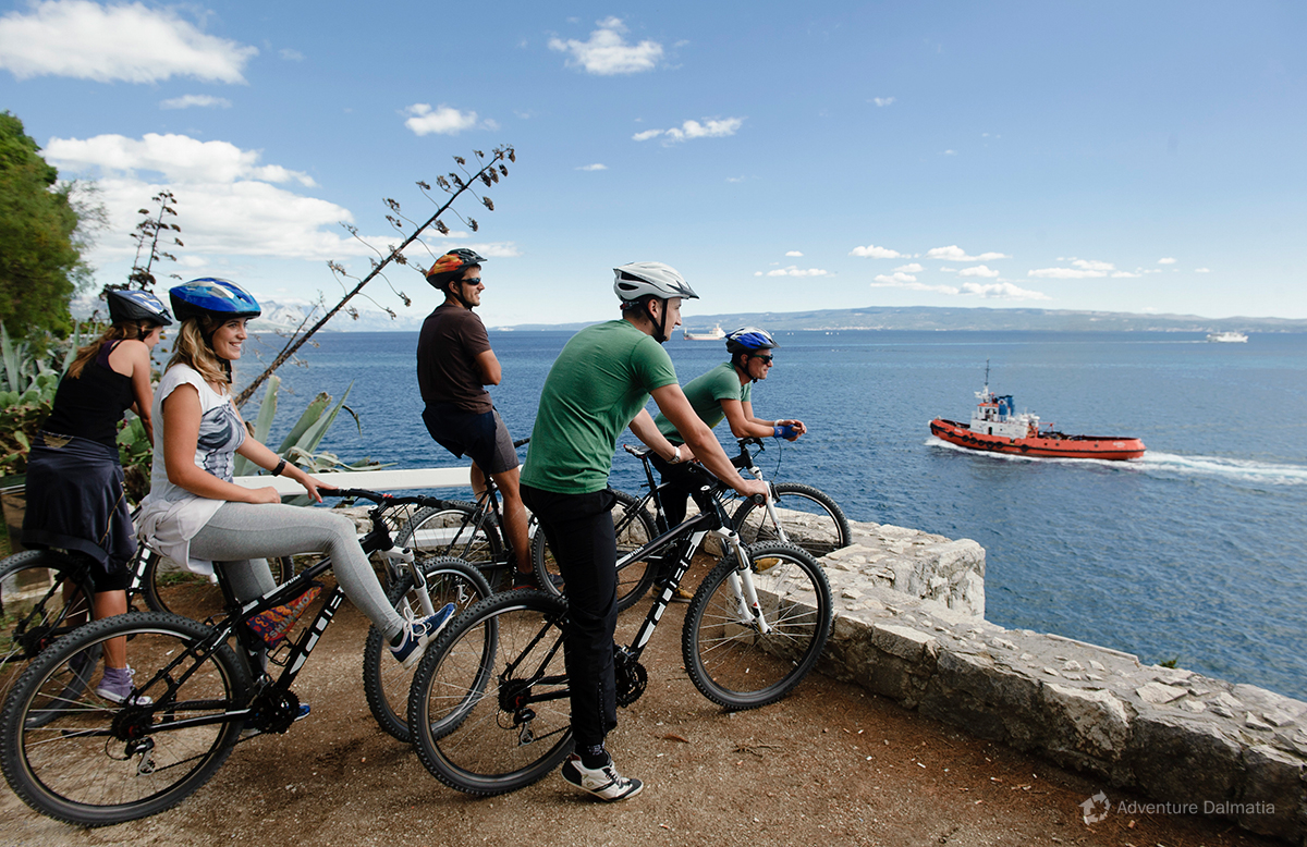 Biking is a perfect way to explore both land and islands.