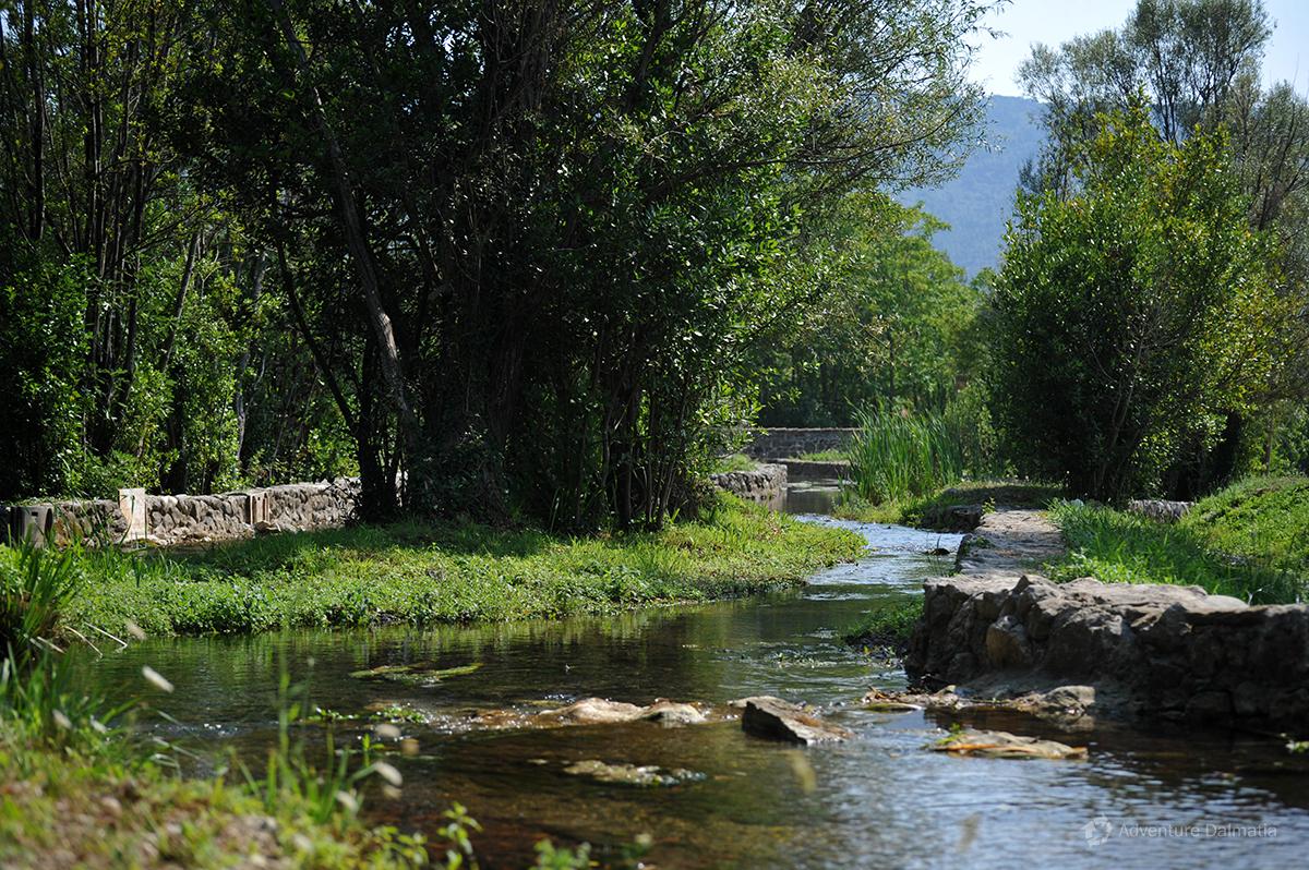 River Ljuta in Konavle valley