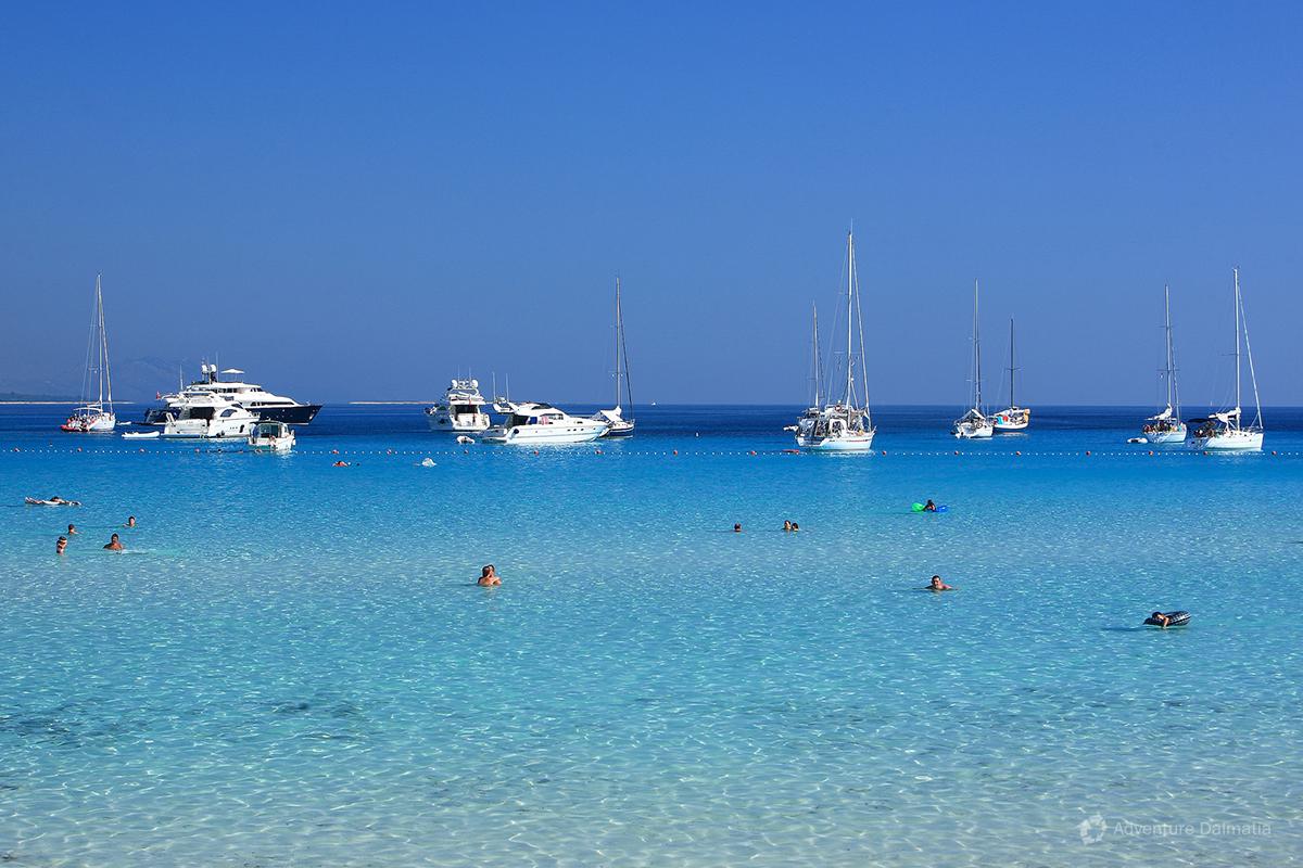 Saharun beach , Dugi Otok, Croatia.