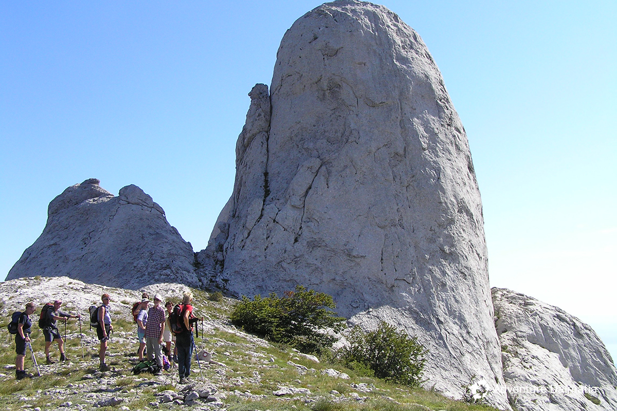 South Velebit hiking