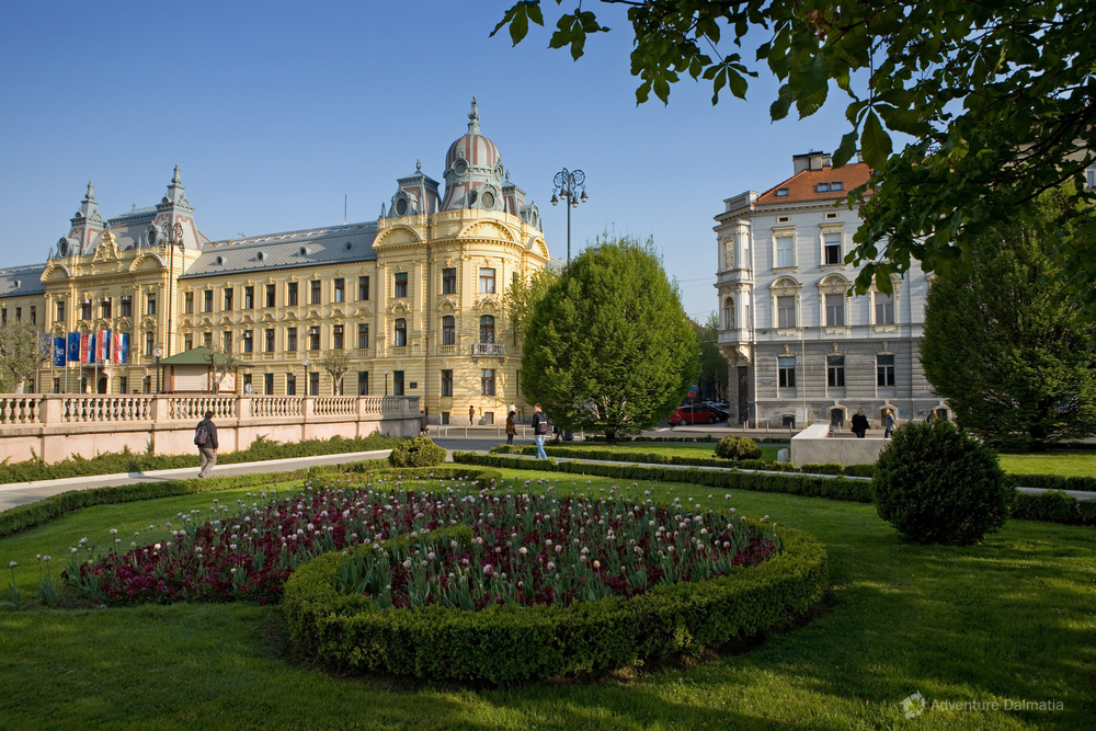 Zagreb, the capital of Croatia