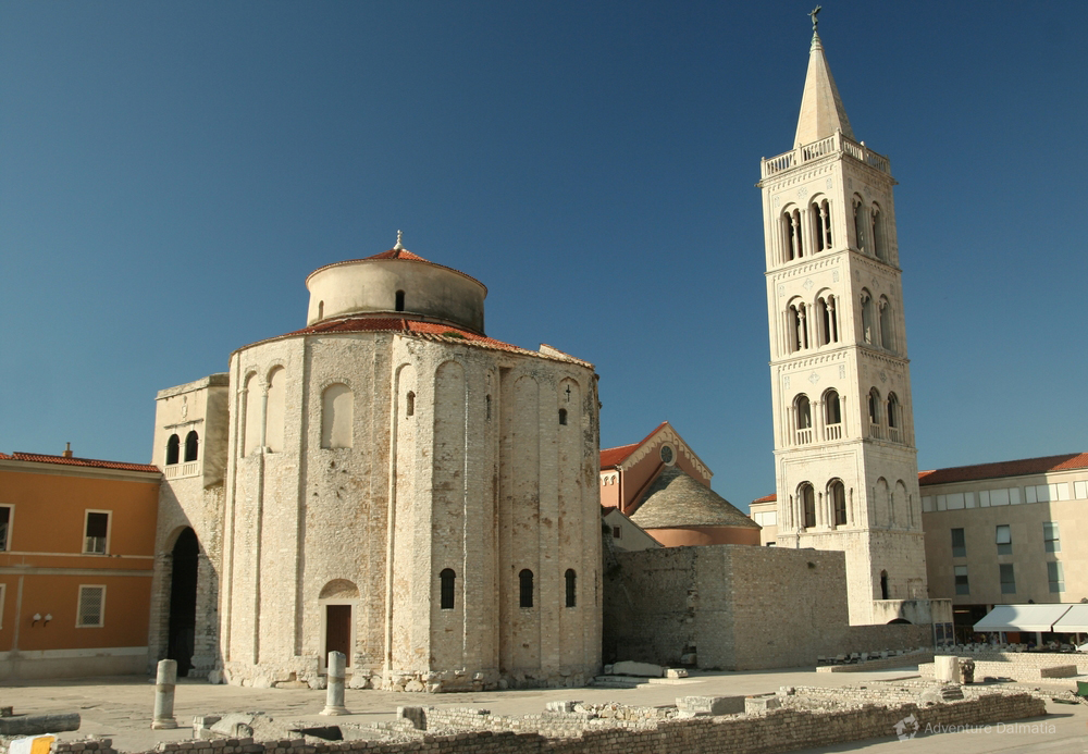 St Donats church in Zadar