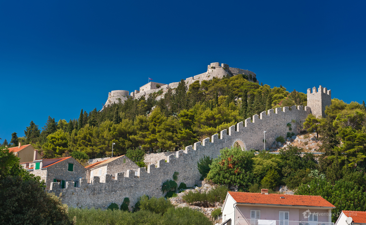 Fortica fortress in Hvar Town