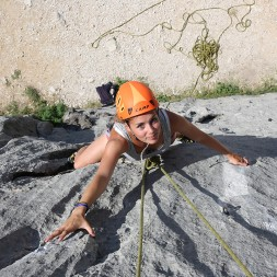 There are more than 50 sport climbing areas all over Dalmatia.