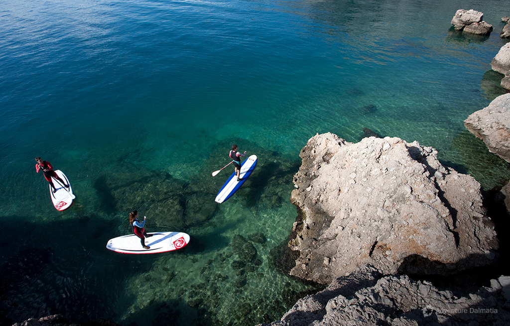 SUP is available everyday from Split city center