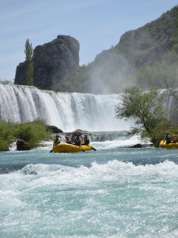 Visoki buk is the biggest waterfall on Zrmanja