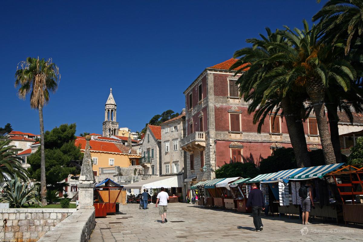 Hvar Town center