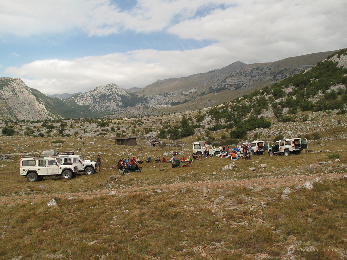 Jeep safari tour on Mount Velebit