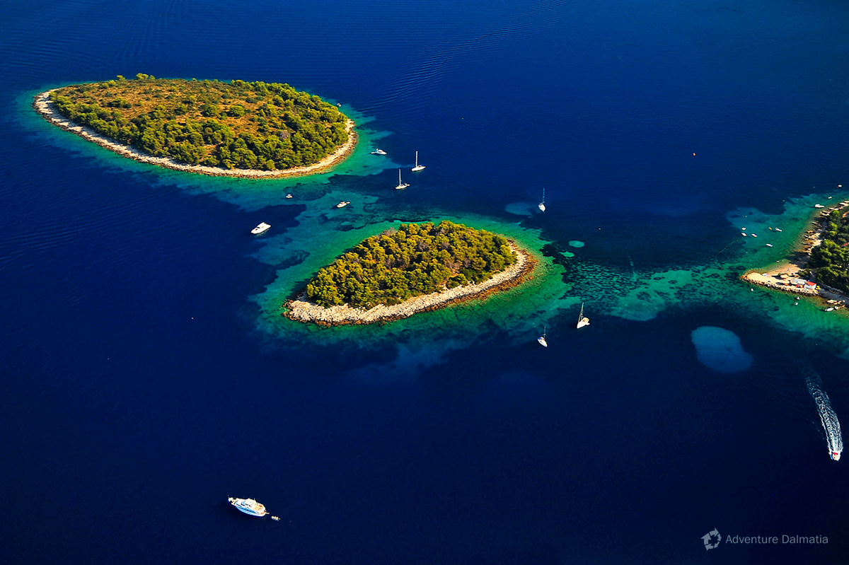 Croatia boosts with 1186 islands, islets and reefs