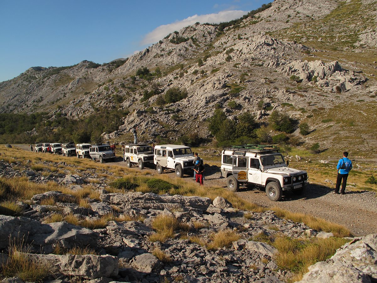 The most important characteristics of Mount Velebit are its stiff cliffs and solid form