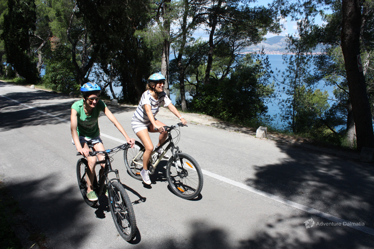 Biking Split - Marjan hill