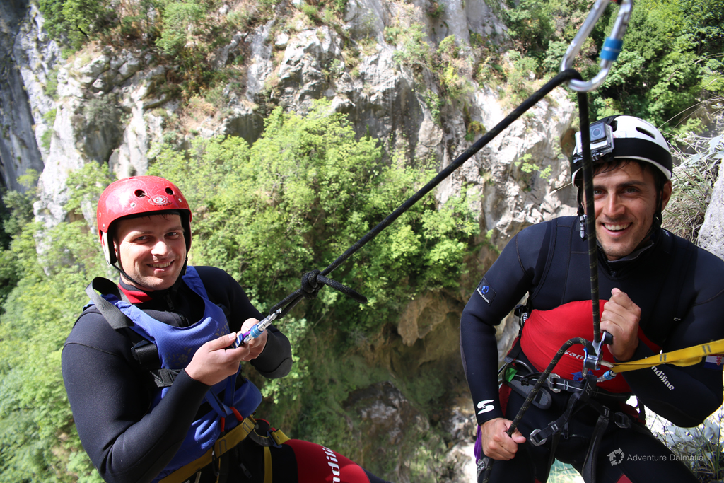 Extreme Canyoning on Cetina river, departures from Split center every day