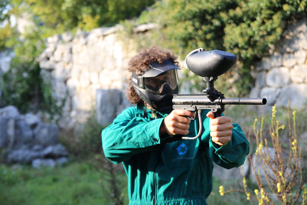 Good targeting is the key to success in Paintball activity