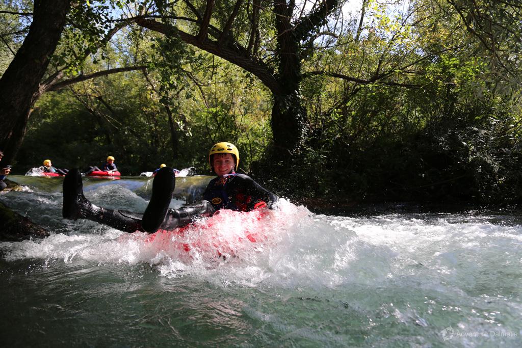 Gentle rapids