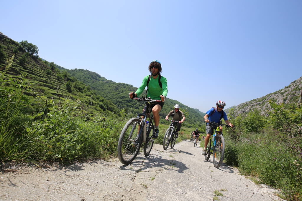 Our guide Mijo on a biking tour