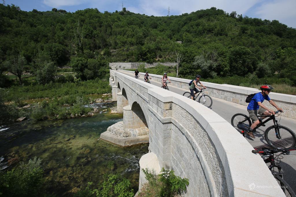 Pavića bridge on Cetina river