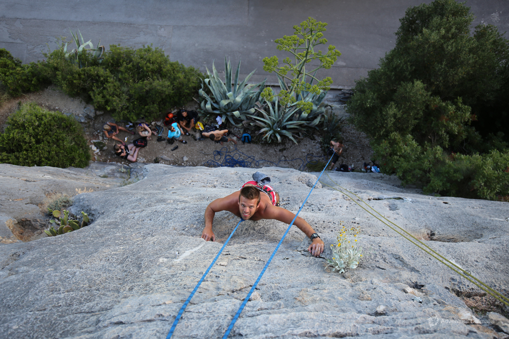 Variety is the spice of life. Rock climbing will test your skills and keep you motivated.
