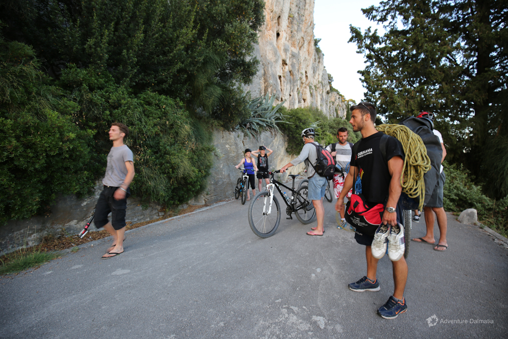 Rock climbing tours in Split with daily departure.