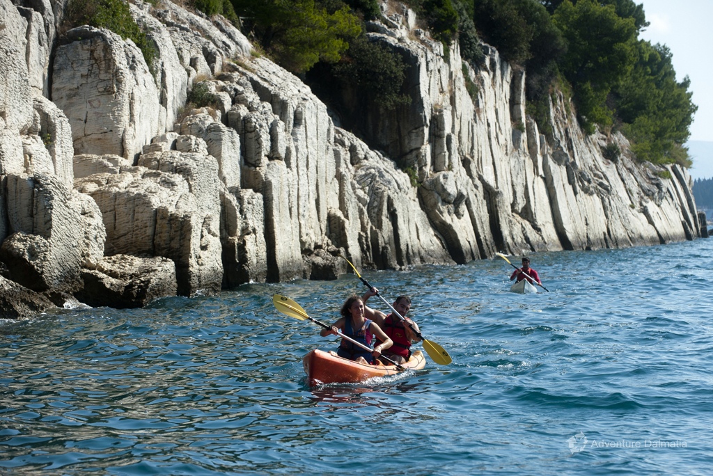 Kayaking in Split