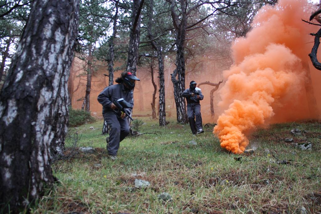 Paintball - Ambush attack