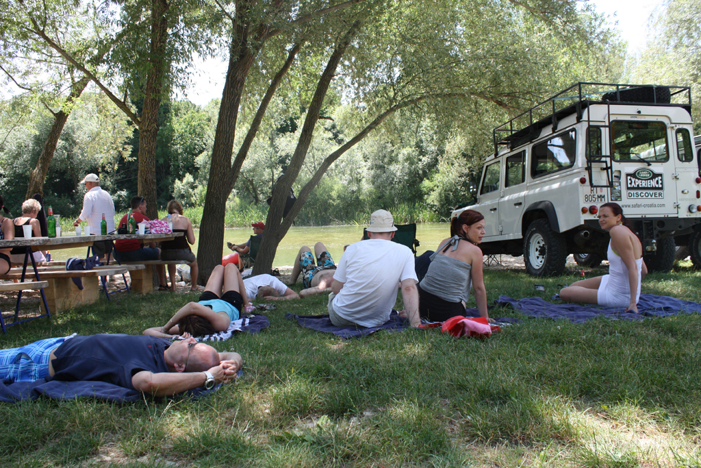 Relaxing near Cetina river