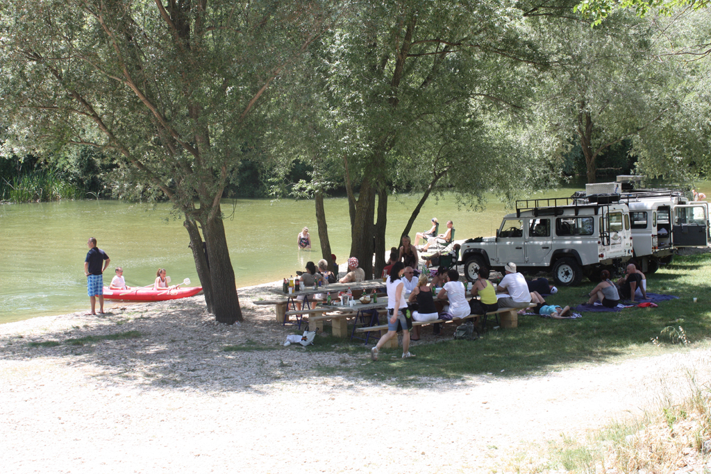 Relaxing near the Cetina river