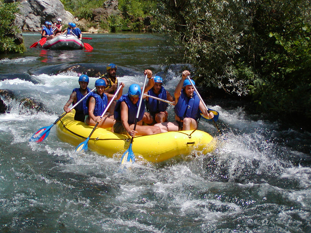 River rafting on Cetina river I