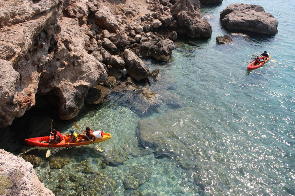 Sea Kayaking in Brela with DAG kayaks