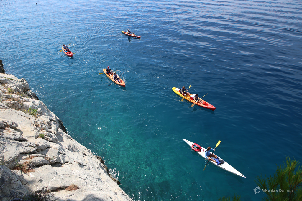 Sea kayaking & Snorkeling activity in Brela