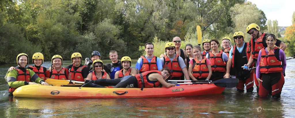 Canoe Safari on Cetina river