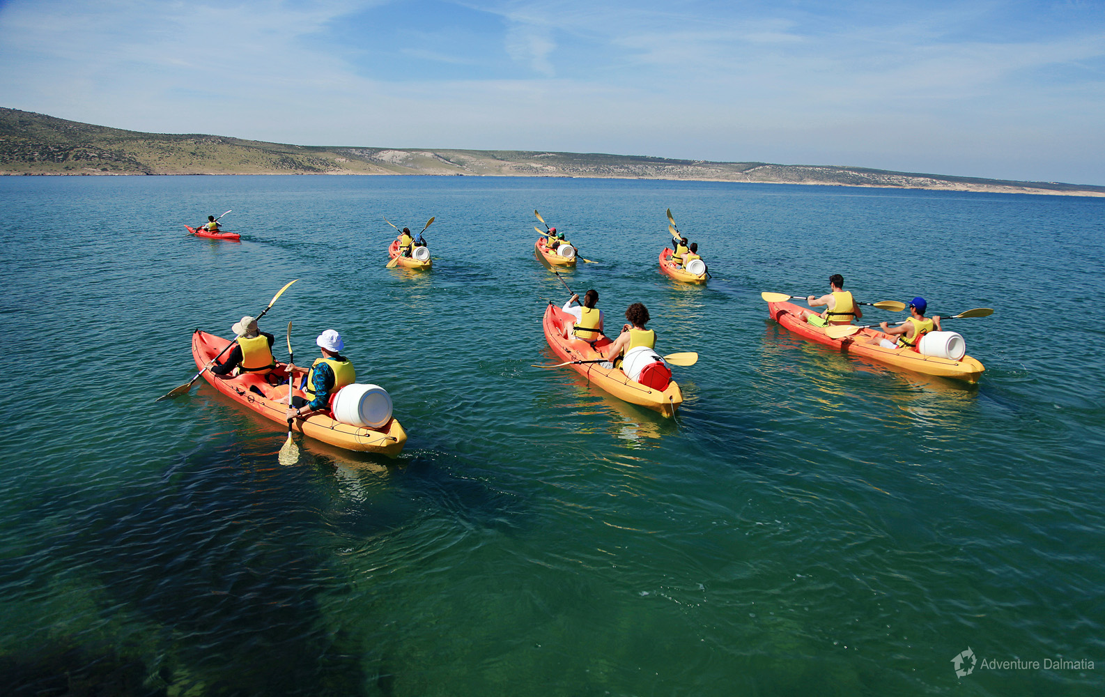 Kayaking tour from Starigrad to Vinjerac and Seline