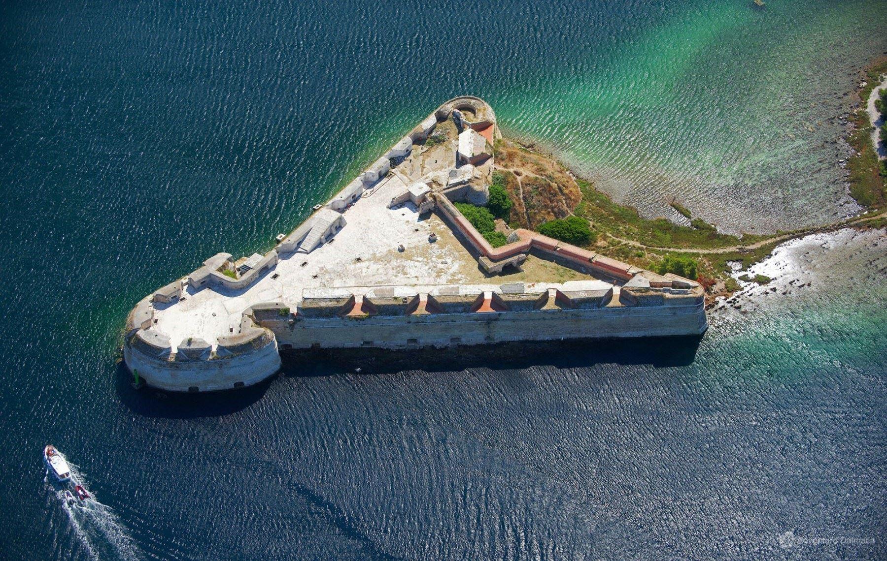 St Nikola fortress, Šibenik